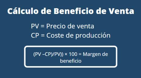 Calcula el margen de beneficio bruto