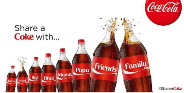 """Redes sociales: """"Share a Coke"""""""