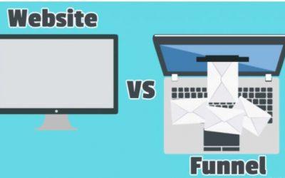 Funnel vs página web  ¿Cuál elegir para tu negocio?